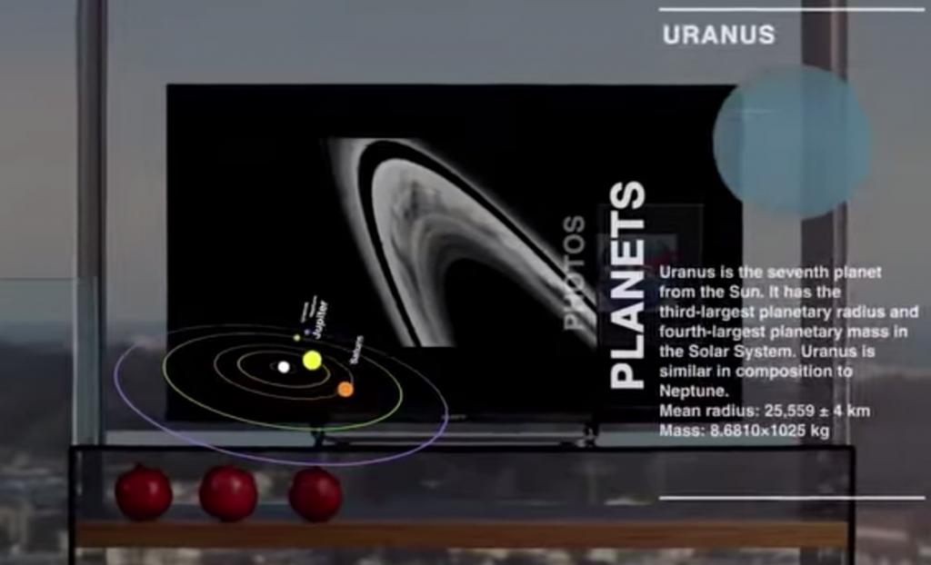 「SeeSpaceInAiR」で近未来のテレビ体験を楽しもう