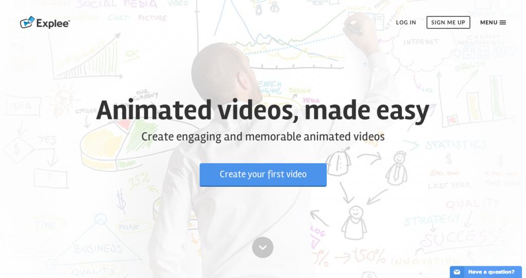 誰でも簡単にアニメーションビデオが作れる「Explee」がスゴすぎる!