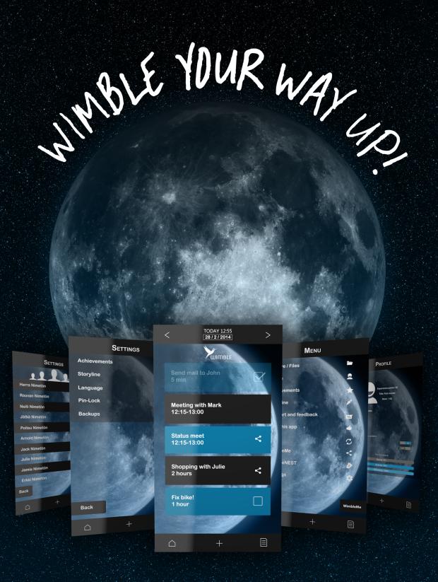 仕事をゲーム感覚でこなそう!話題のスケジュール管理アプリ「Wimble」