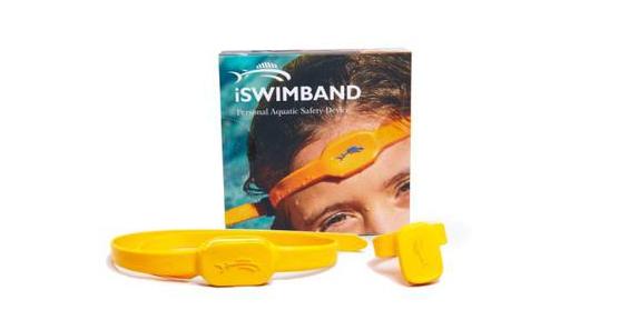 水難事故の防止に!世界初センサー搭載バンド「iSwimband」が溺死を防ぐ