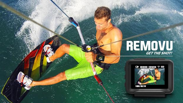 GoProからリアルタイムで映像を受信するウェアラブルカメラ「REMOVU P1」