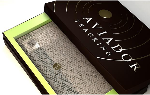 もう財布を落としても大丈夫!トラッキング機能搭載の最先端財布「AVIADOR」