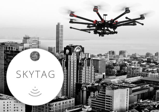 世界初!ドローンで追跡可能なBluetoothタグ、「SkyTag」