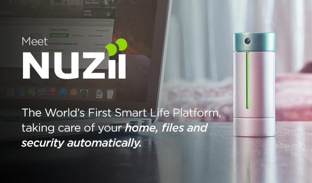 手のひらサイズのクラウドデバイス「NUZii」で実現する安心スマートライフ