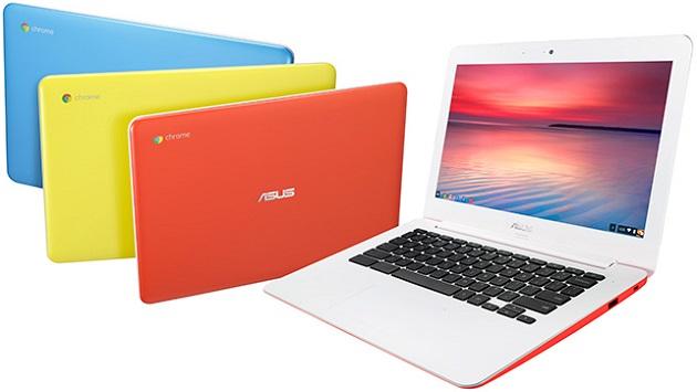 カラフルでキュート。いつもそばに置いておきたいノートパソコン、ASUS  「Chromebook C300MA」