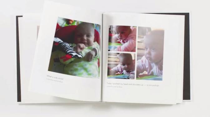 赤ちゃんの写真を撮ってメモするだけ。自宅にアルバムを届けてくれるアプリ「Baby Book」