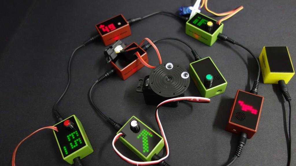 高度なプログラミング知識は必要なし!簡単に色々な装置を作れちゃう電子ブロック「BitCube」