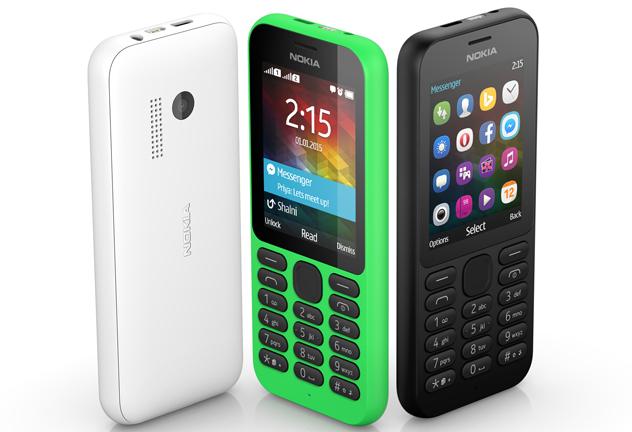圧倒的ロープライスな激安ケータイ「Nokia215」がMicrosoftからリリース