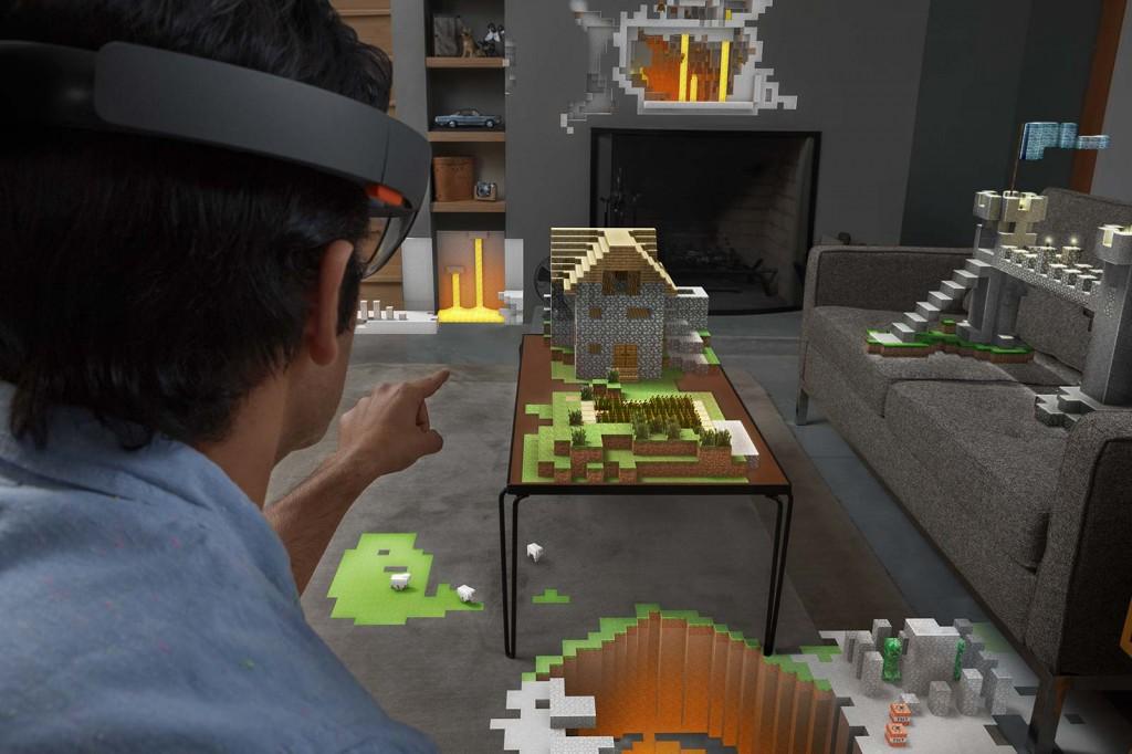 そうきたか!Microsoftが3Dホログラム対応のヘッドマウントディスプレイ「Microsoft HoloLens」を発表