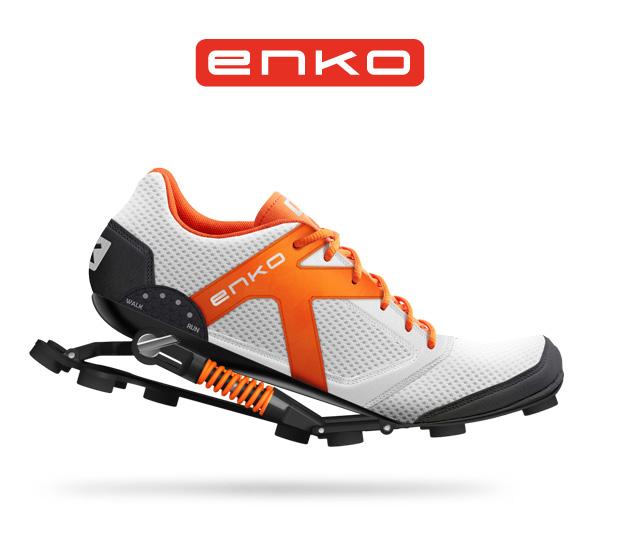 負担を軽減するだけじゃない!衝撃を力に変えるランニングシューズ「ENKO」