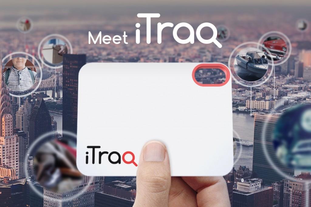 追跡タグの新しい形。電波塔を使って位置を把握する「iTraq」
