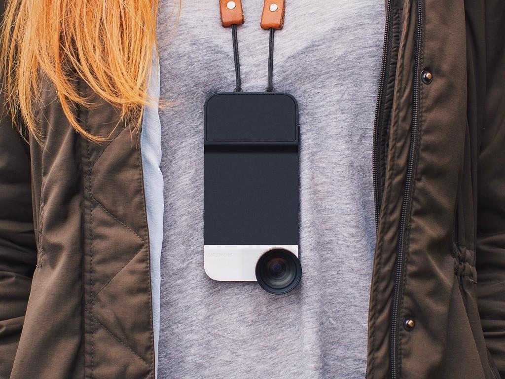 iPhoneカメラをデジカメに変身させるケース「Moment Case」で誰でも撮影上手