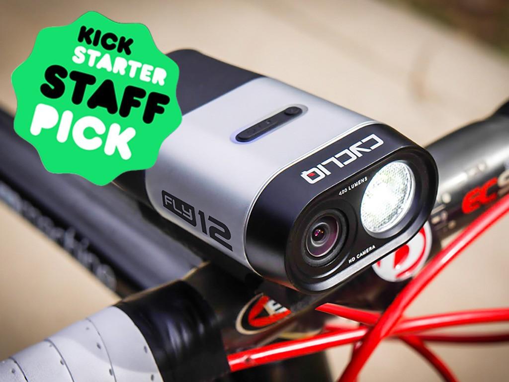 自転車用ドライブレコーダー「Fly12」はLEDライトとしても高性能