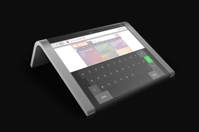 未来はすぐそこに!曲がるディスプレイを活用した新型タブレット「Samsung BEND」