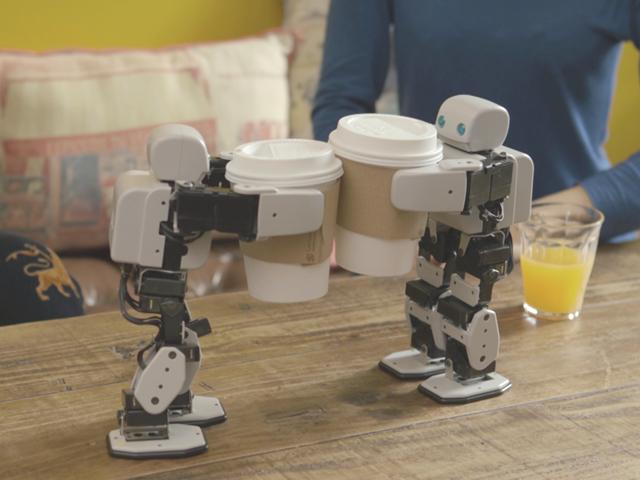 世界初!3Dプリンタで自作可能な小型ロボット「PLEN2」
