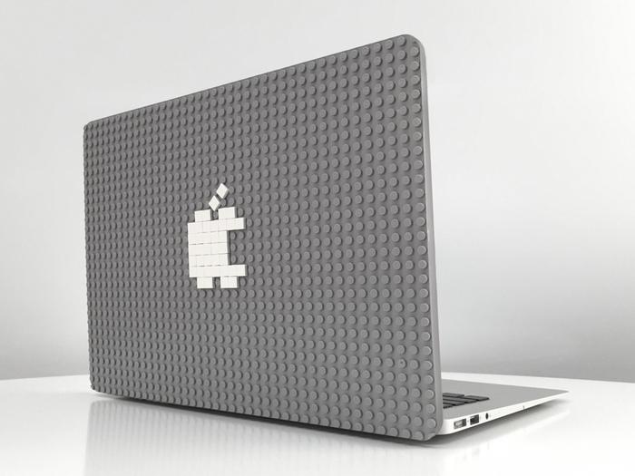 MacBookをLEGOで自由にカスタマイズできる「Brik Case」がオシャレ