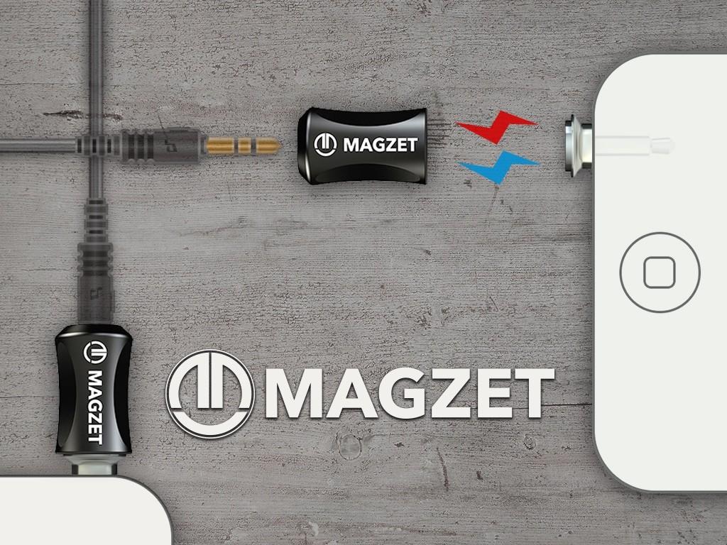 もうイヤホンもスマホも壊さない!磁石の力でケーブルを接続する「MAGZET」