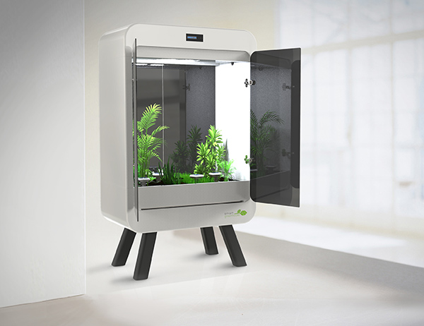 もう枯らさない!SmartGreenHouseがあれば室内で野菜が作れる