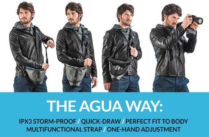 ただのバッグじゃない!カメラ専用に開発されたバッグ「AGUA」が便利