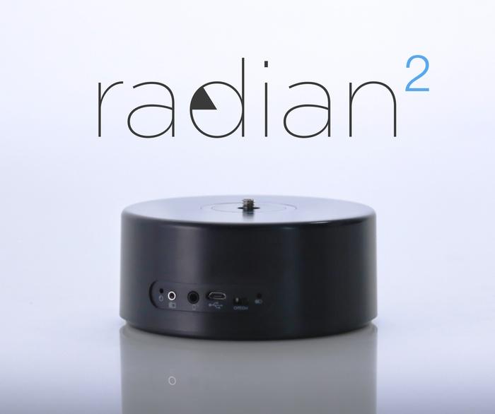 スマホで自動アングル操作できるカメラスタンド「Radian2」