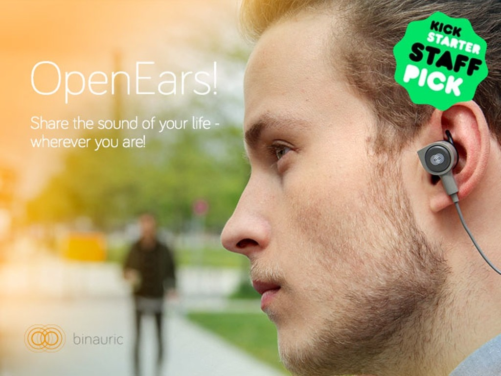 耳で聞いたままのサウンドを録音できるスマートBluetoothイヤホン「OpenEars」がスゴい臨場感!