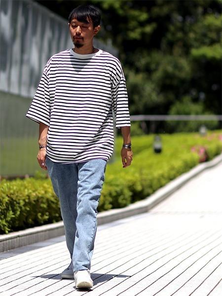 ボーダーTシャツのおすすめ夏コーデ集!メンズの定番着こなしまとめ
