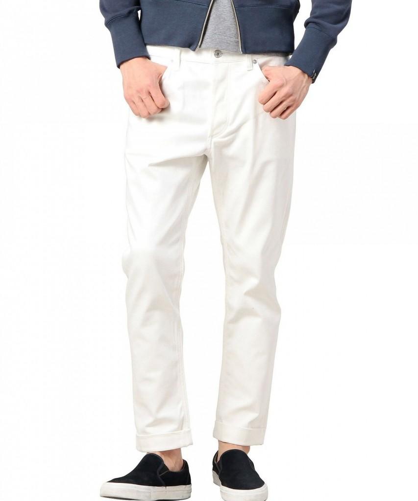 白パンツのおすすめブランドを紹介!目指せおしゃれ上級者