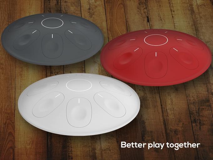 デジタル楽器「Oval」で音楽を楽しもう