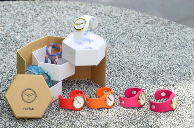 3Dプリンターで自分だけの時計をデザインできる「IO Watch」がオシャレ