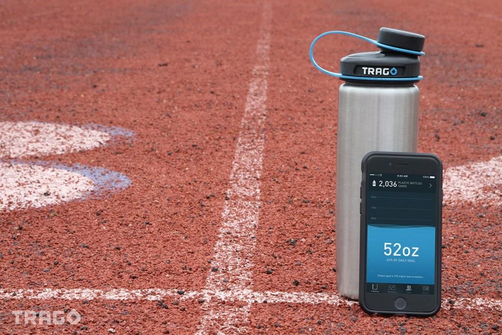 飲む量を教えてくれるボトルキャップ「Trago」で適度な水分補給を!