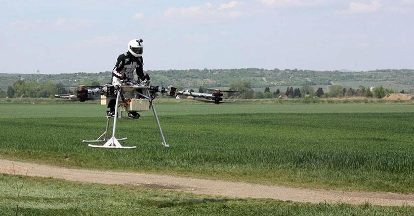 有人飛行に成功!空飛ぶバイク「Flike」がスゴイ