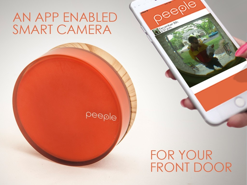 来客をスマホでチェック!「Peeple」をドアに設置しよう