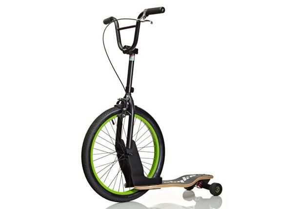 スケボーと自転車の融合!新感覚乗り物「Sbyke」が楽しそう