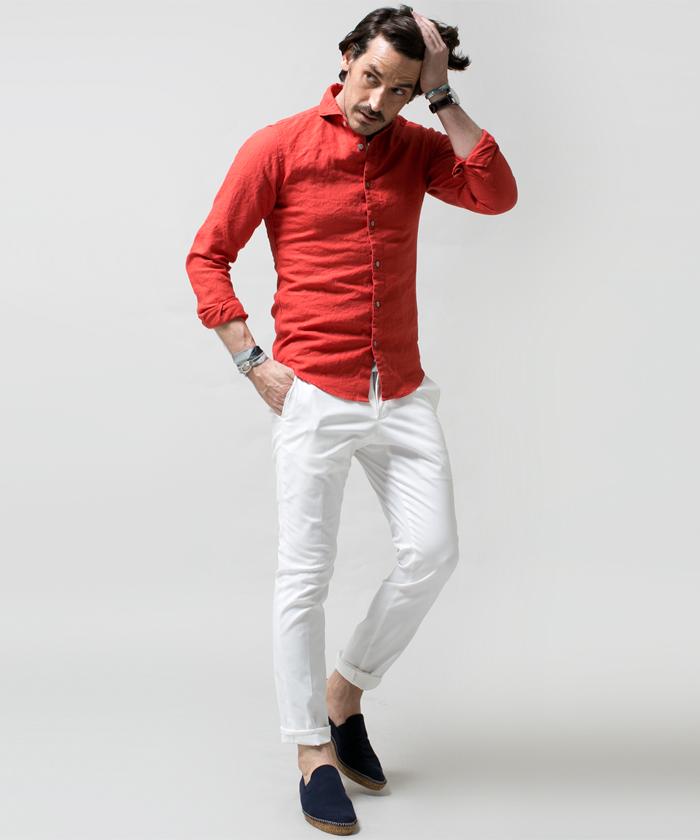 カジュアルシャツのイメージ