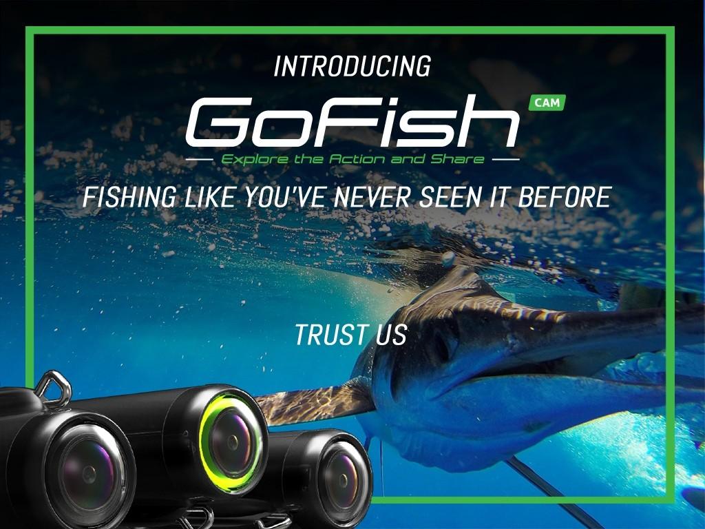 魚が食いつく瞬間を動画で撮る!釣り糸に付けるフィッシングアクションカメラ「GoFish Cam 」