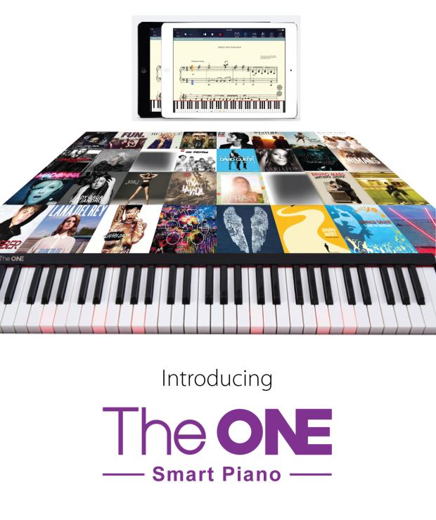 スマートピアノ「The One」で音楽を楽しもう