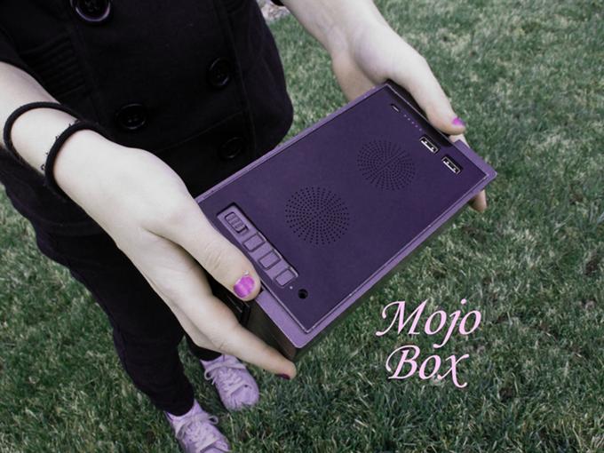 魔法のハイテクボックス!アウトドアでスマホを使うなら「Mojo Box」にお任せ