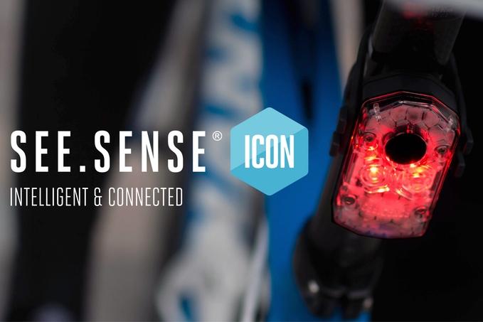 スマホとも連動する最強自転車用ライト「See Sense ICON」
