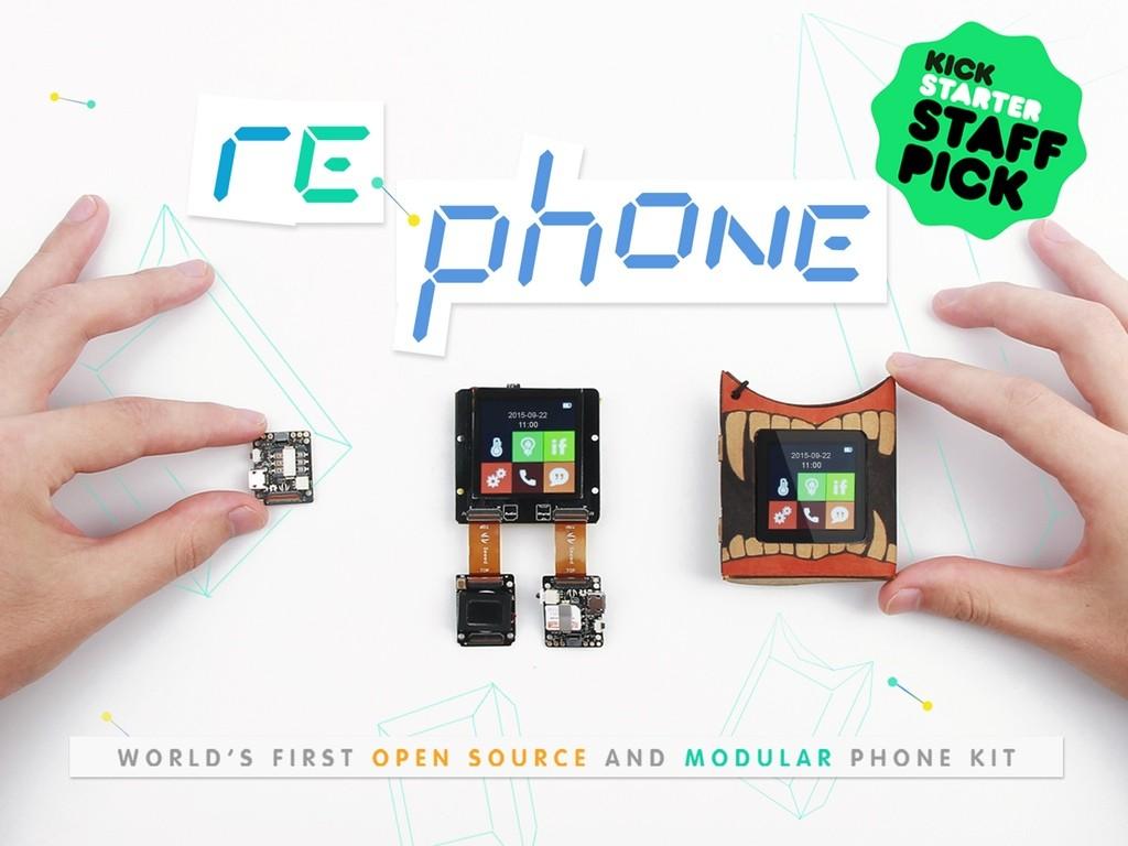 エッ自分で作るの?携帯電話を自作するDIYキット「RePhone Kit」が登場
