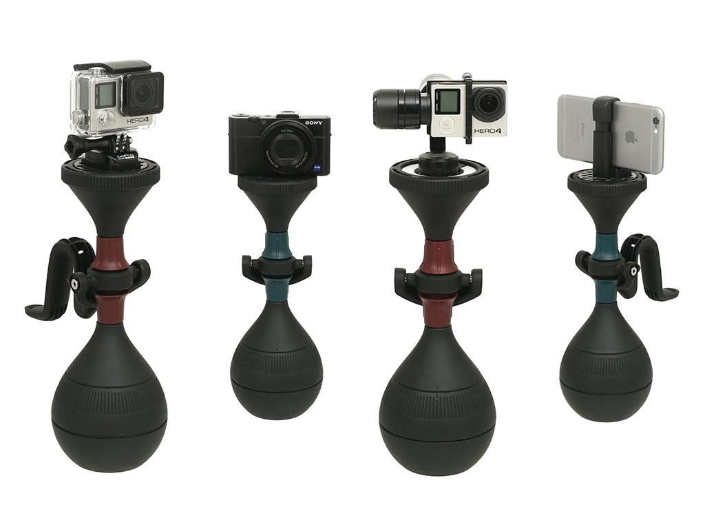 さよなら手ブレ!手軽にプロ並みのスムーズな動画を撮影できる3軸カメラスタビライザー「solidLUUV」