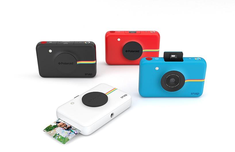 デジタルとアナログで簡単シェア!ポラロイドのインスタントデジカメ「snap」がイイぞ