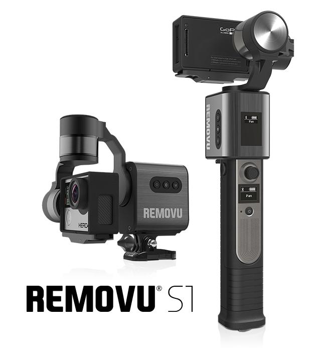 リモコン操作もできちゃう!GoProカメラの固定に便利なジンバル「Removu S1」