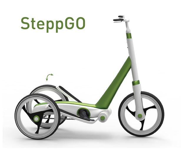 カイロ発!立って乗ることができる新時代の自転車「SteppGo」