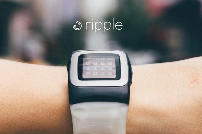 Pebble Timeユーザーに朗報!バッテリー問題に終止符を打つ専用ソーラー充電ウォッチバンド「Ripple」