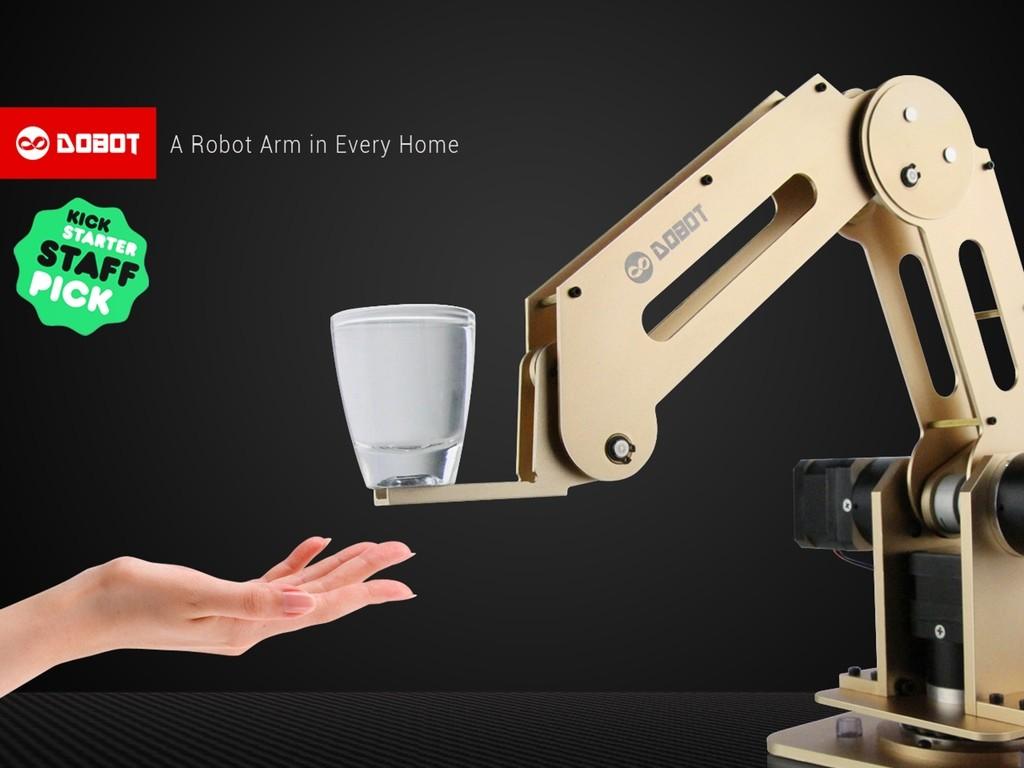 絵だって書けちゃうぞ。家庭で使えるロボットアームがとっても便利