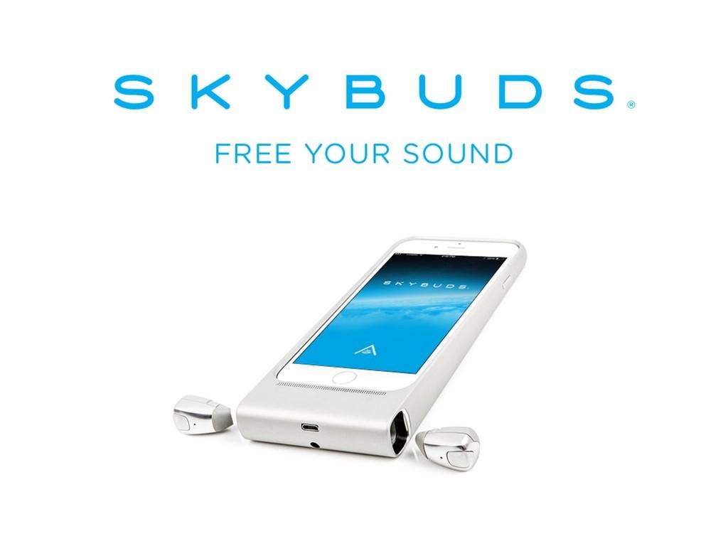 スマホと一緒に充電できるワイヤレスイヤホン「Sky Buds」がスゴい