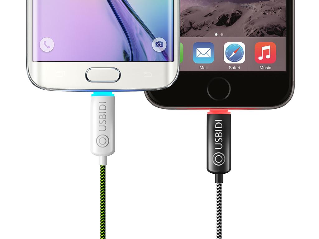 充電したまま寝るのはNG!満充電で自動ストップする充電ケーブル「UsBidi」なら大丈夫