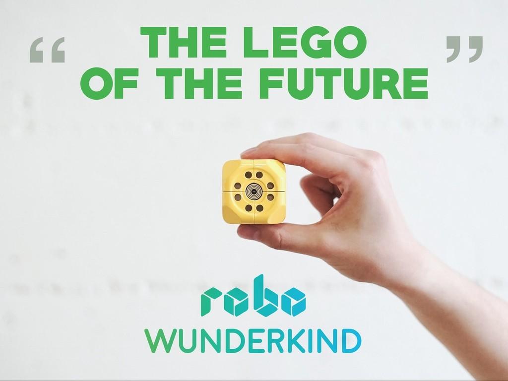 未来のレゴ。子どもが遊びながら技術を学べる「Robo Wunderkind」
