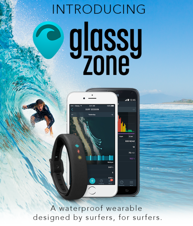 サーファーによるサーファーのためのウェアラブルデバイス「glassy zone」