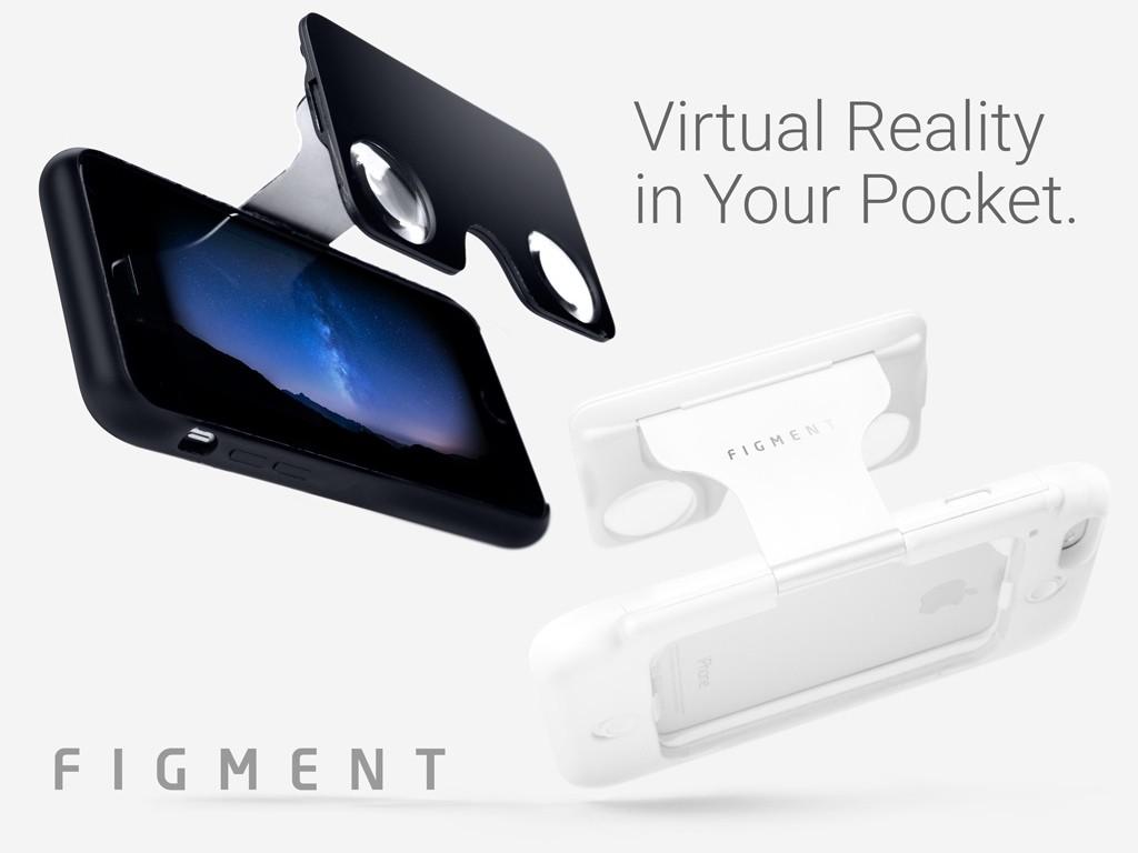 バーチャルリアリティをポケットに。ケース一体型レンズ「Figment VR」